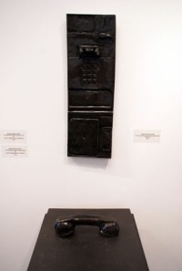 SCALE MODEL Zetterower Payphone, 2012  Ceramic