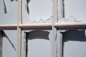 Mulberry Street Window (Detail), 2014 Tabby