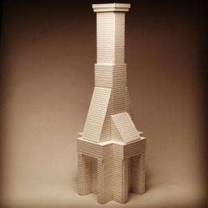 Chimney Model, 2013 Wood